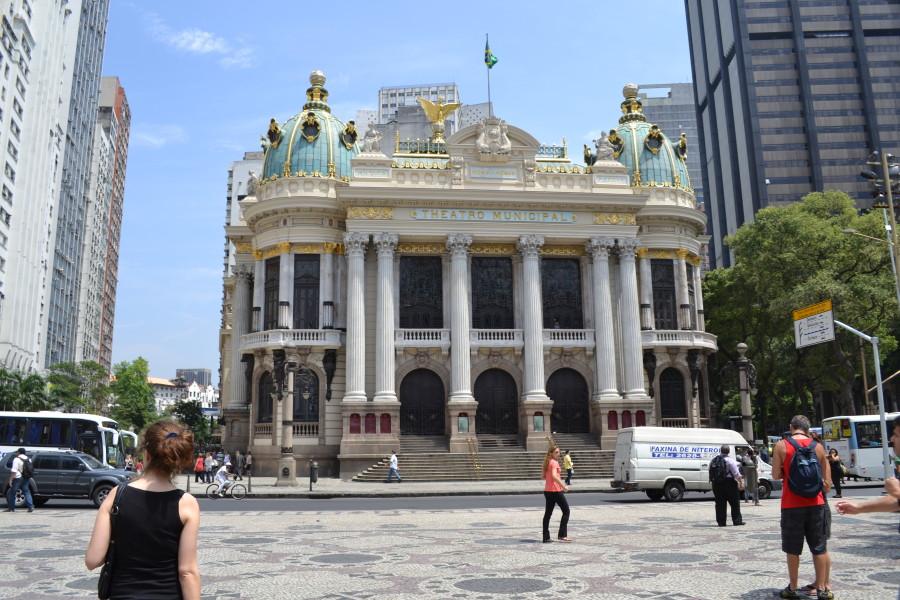 Das Theater in Rio