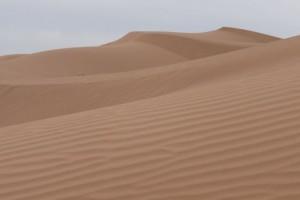 Wüste Dünen