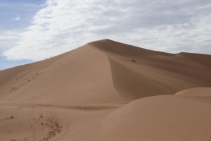 Wüste Erg Aufstieg