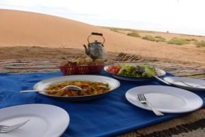 Wüste Mittag