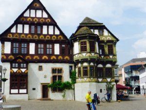 Schöne Fachwerkhäuser in Höxter