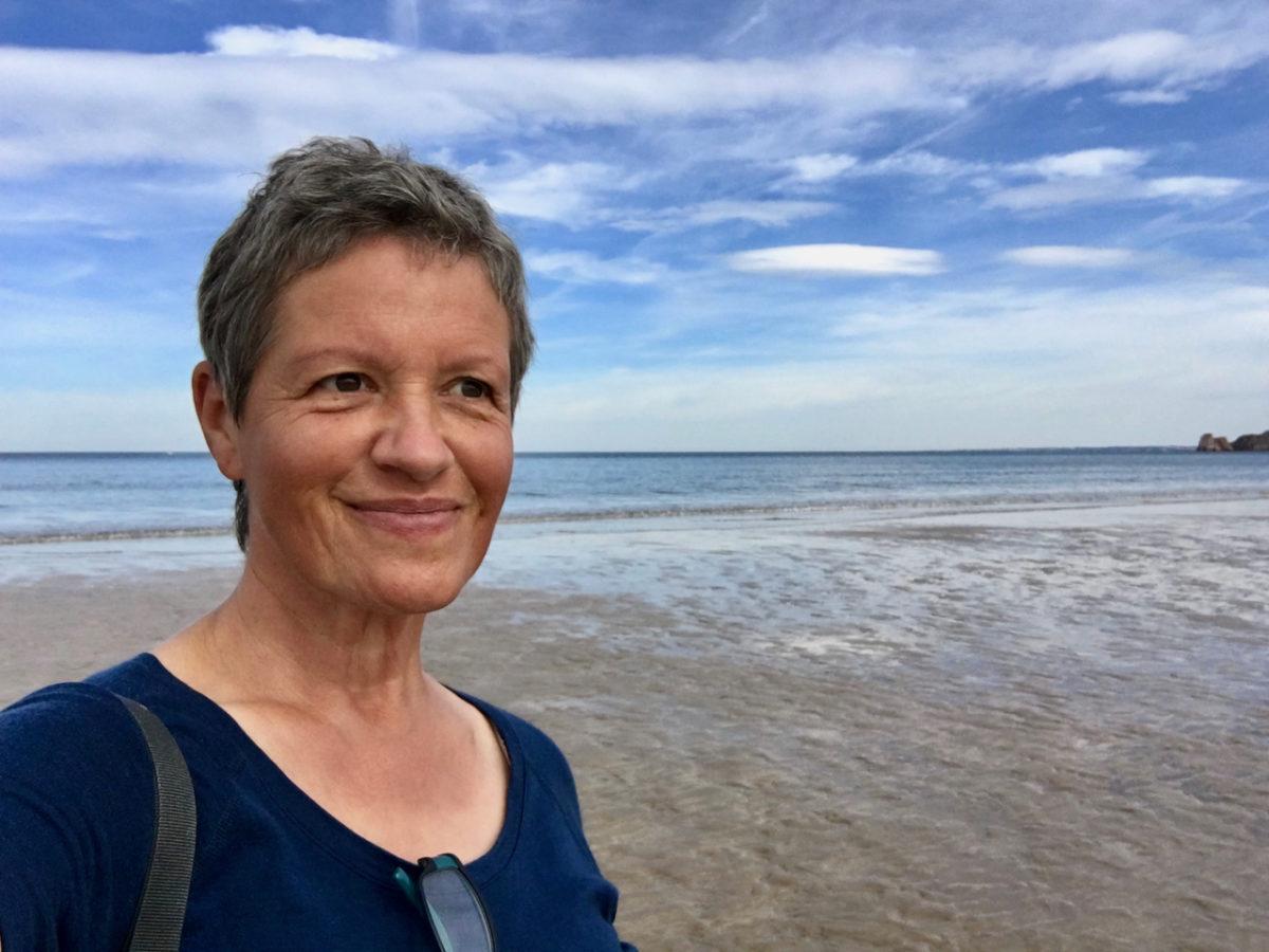 Frau mit 60 Jahren