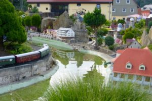 Modelleisenbahn in Rathen