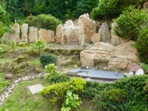 Felsenbühne im Miniaturpark