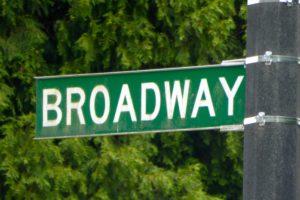Der Broadway in Reefton