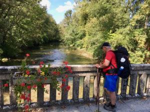Die Seine in Couteron