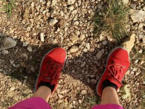Pilgerreise, Füße