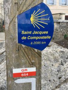Pilgerreise, Jakobsweg in Frankreich