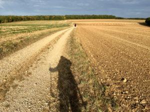 Einsame Hochebenen erwarten den Pilger