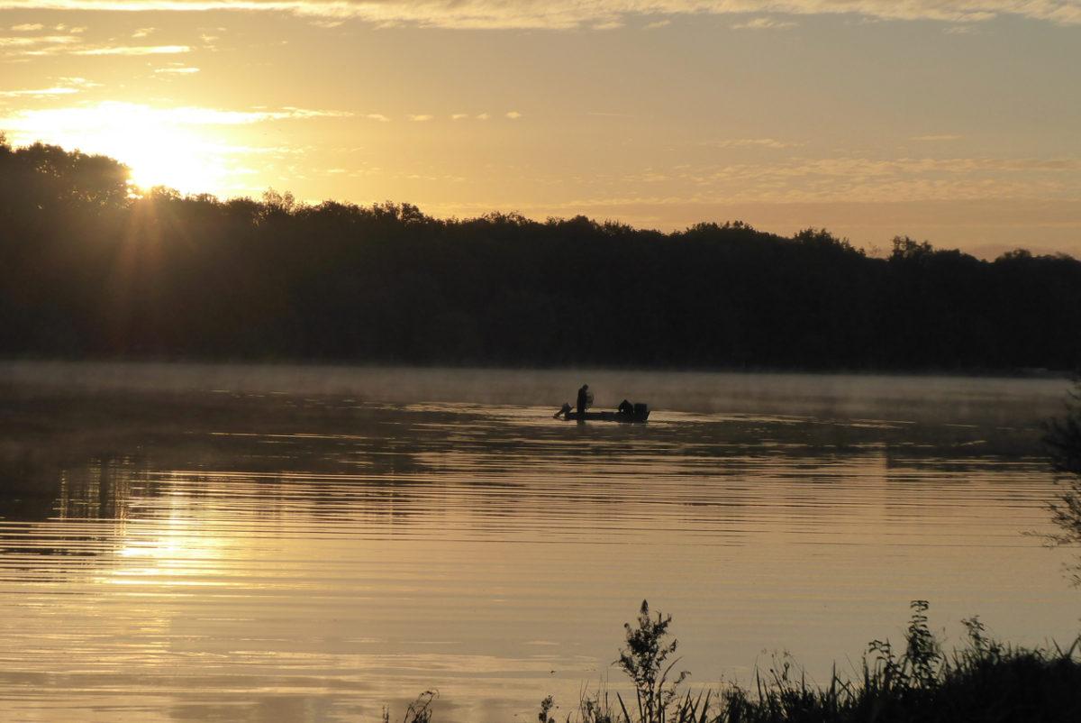 Morgenritual, Sonnenaufgang