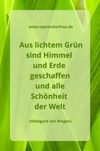 Grün ist Wachstum